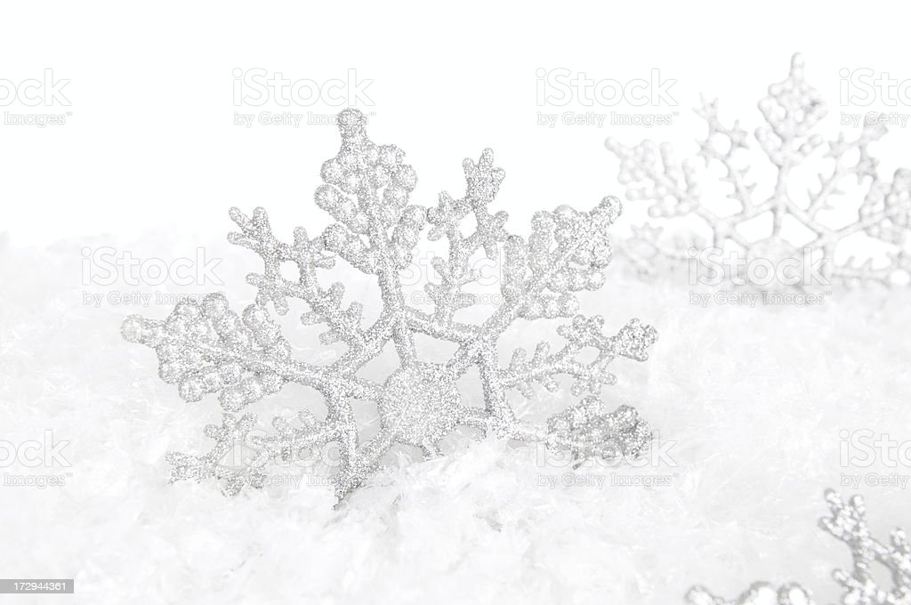 Snowflakes! (XL) royalty-free stock photo