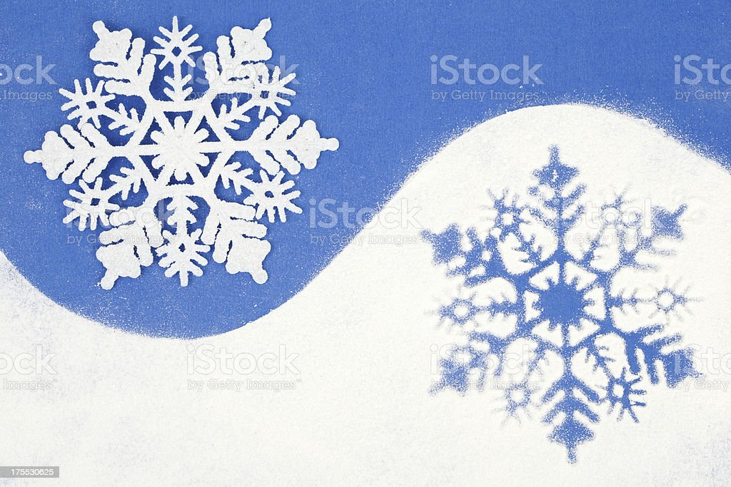 snowflakes royalty-free stock photo