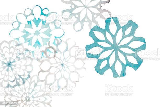 Snowflakes Stock Photo - Download Image Now