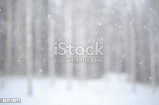 istock Snowing background 637928972