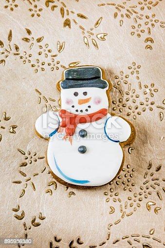 1056829102 istock photo Snowman christmas cookies 895986380