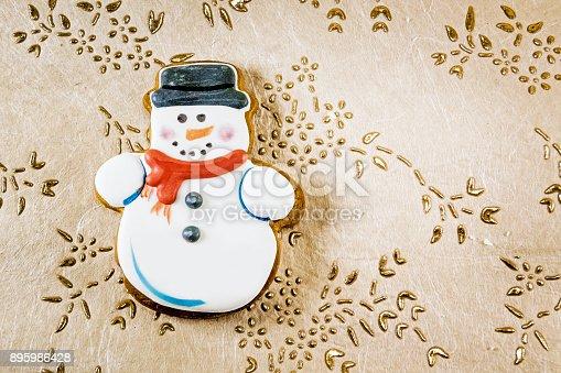 1056829102 istock photo Snowman christmas cookies 895986428