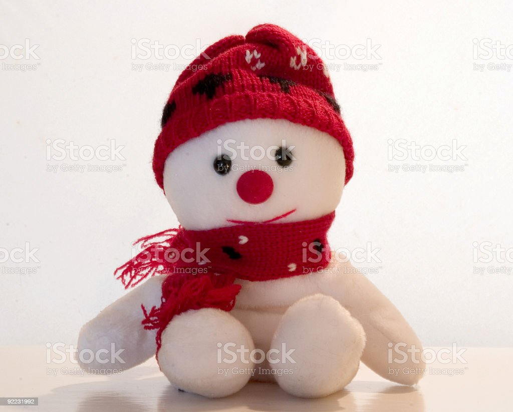 Snowman II royalty-free stock photo