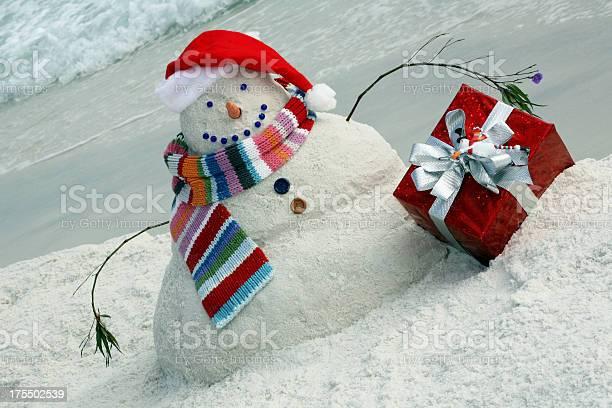 Snowman made of sand on florida beach for christmas picture id175502539?b=1&k=6&m=175502539&s=612x612&h=iorlg5q49sapue8wudihk1vl31 t6uagjcdzqs 7j2w=