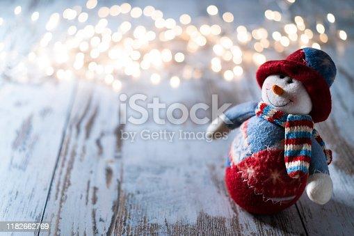 istock Snowman 1182662769