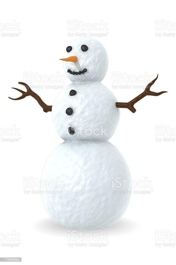 Boneco de neve - foto de acervo