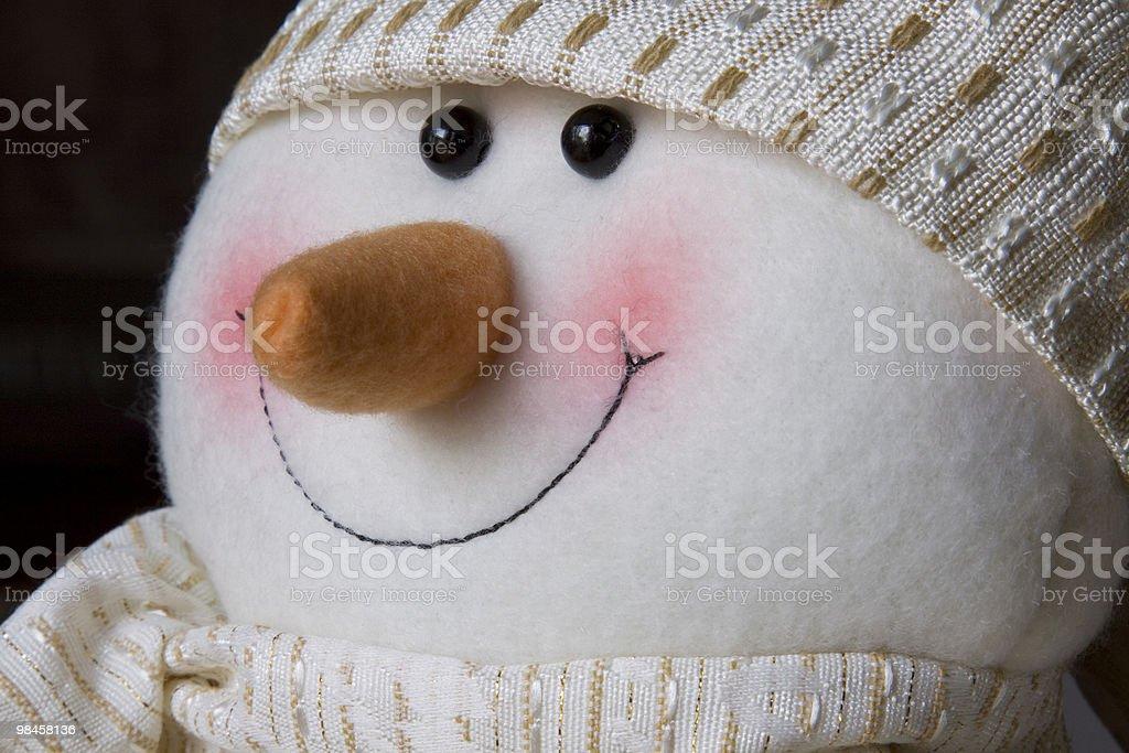 Pupazzo di neve foto stock royalty-free