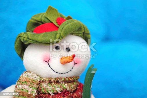 istock Snowman Toy 183513855