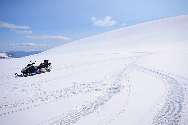 Schneemobil auf Vatnajökull-Gletscher – Foto