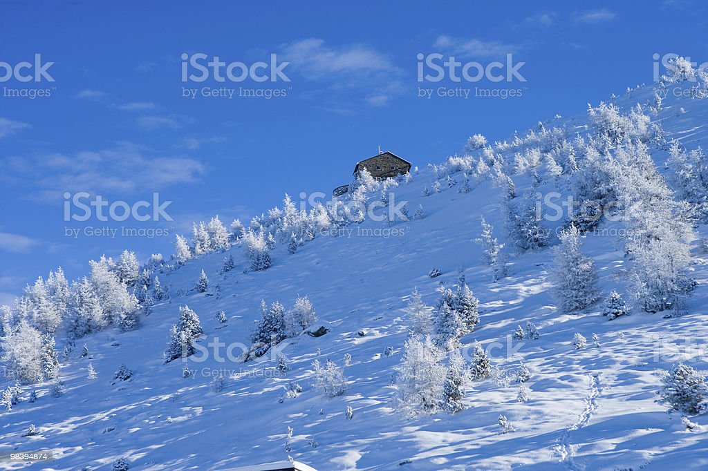 Snowscape royalty-free stock photo