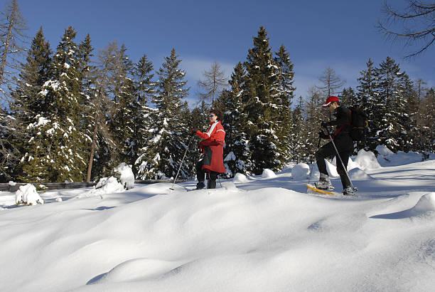 Schneeschuh-Wandern – Foto