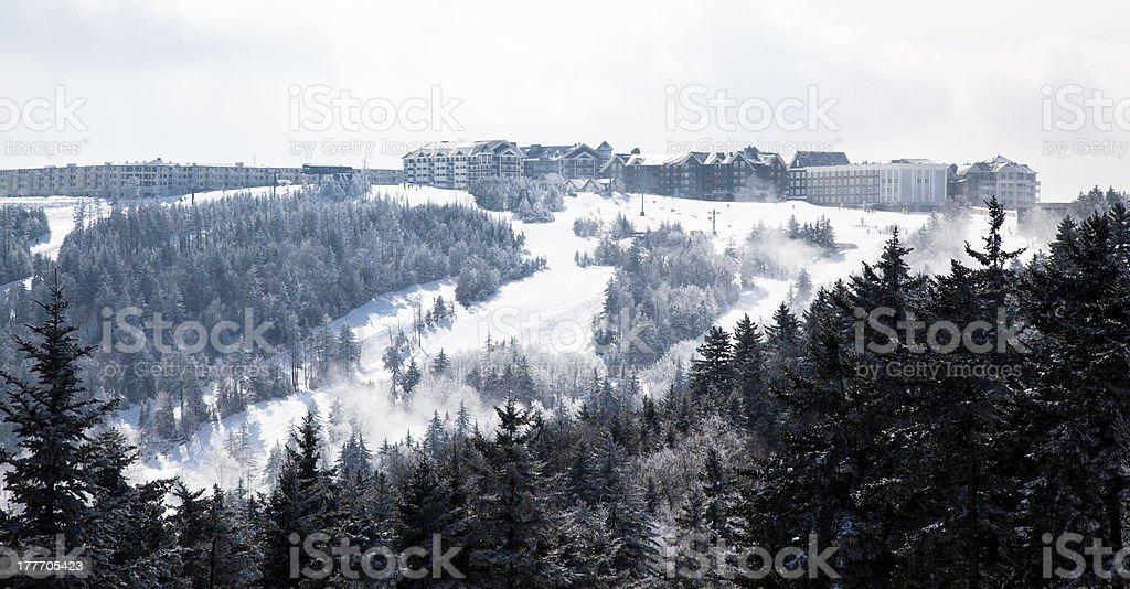 Schneeschuh-Resort – Foto