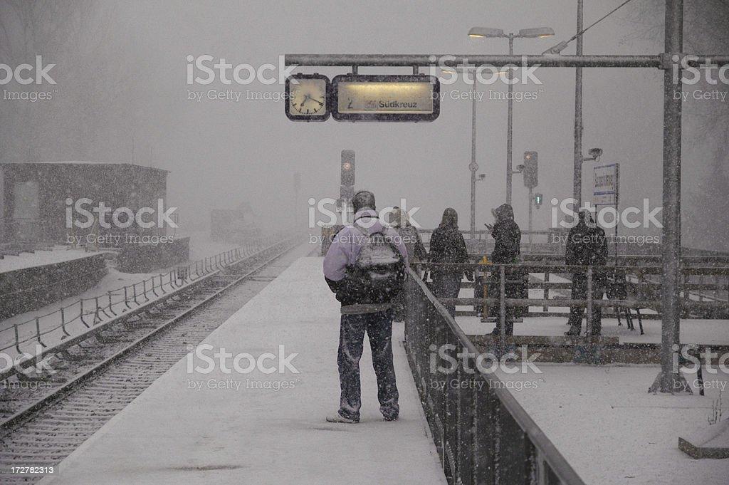 Schneesturm – Foto