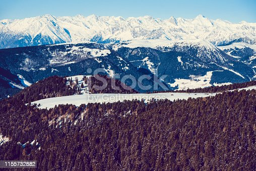 Snowy Alps Valley