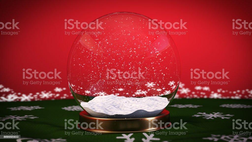 Schnee-Ball - Stock Bild – Foto