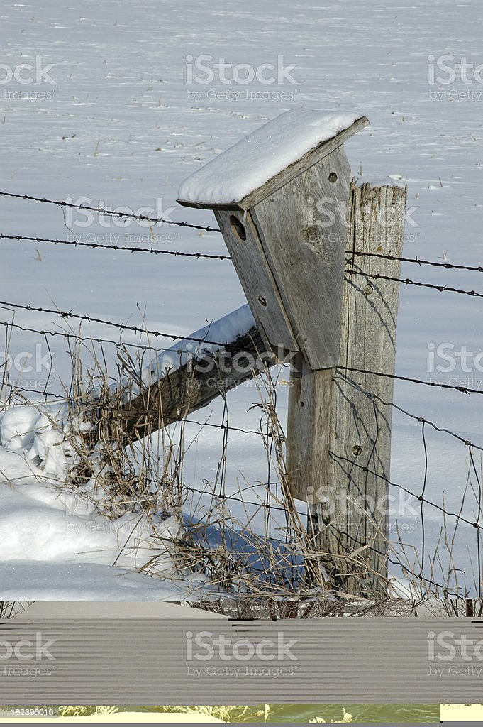 Snowy Creek stock photo