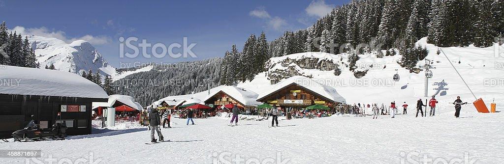Snowy days royalty-free stock photo