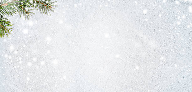 snowy glittering christmas or new year background – Foto