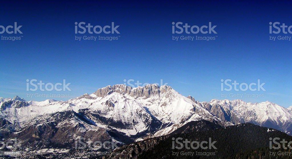 Снежная Горы Стоковые фото Стоковая фотография