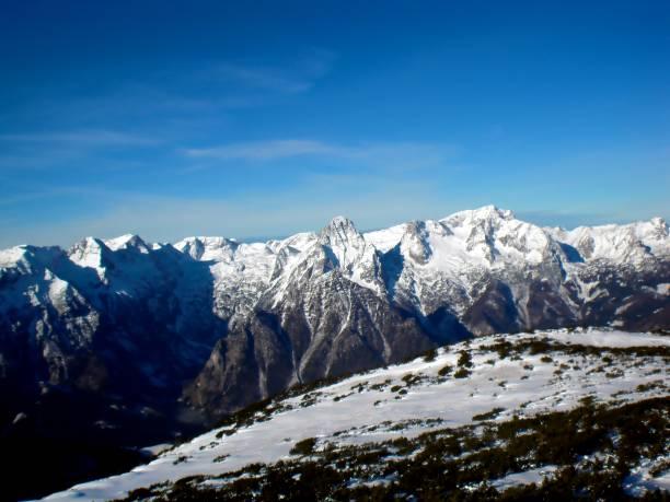 Snowy Mountains im Winter, Österreich, Hinterstoder – Foto