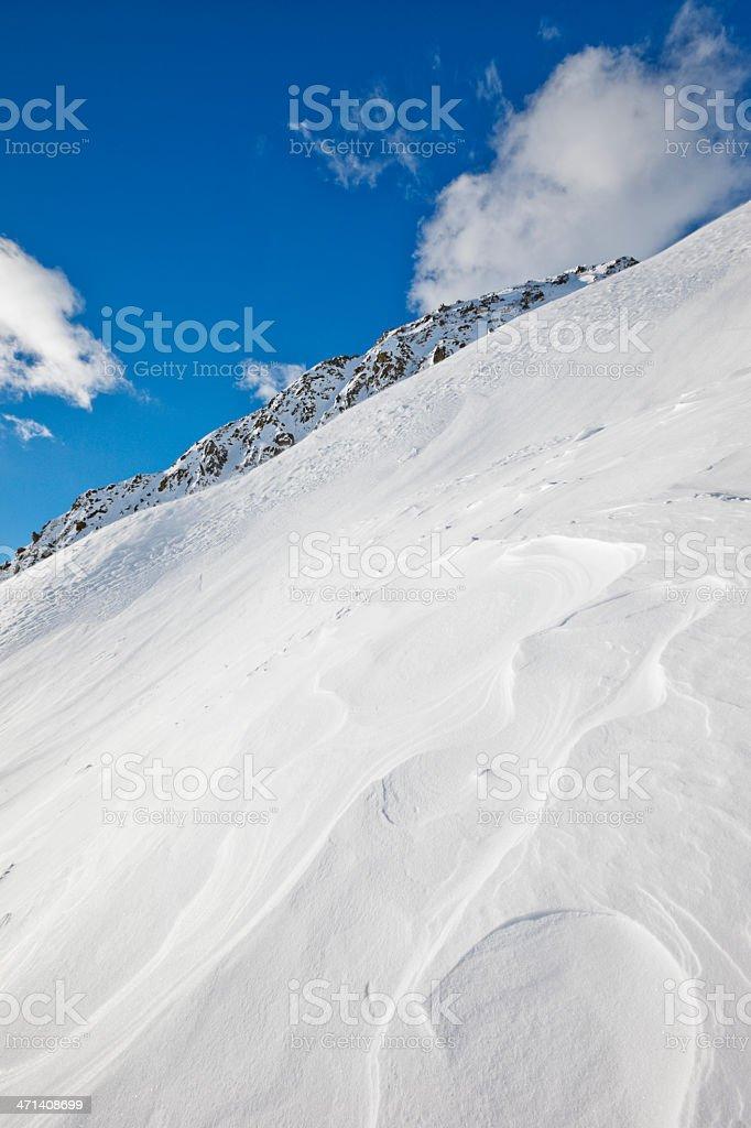 Schneebedeckte Berge Landschaft – Foto