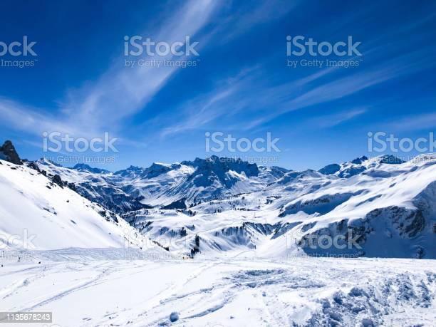 Photo of Snowy mountains