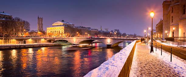 Neige à Paris - Photo