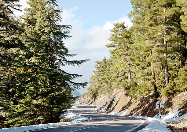 Verschneite Road – Foto