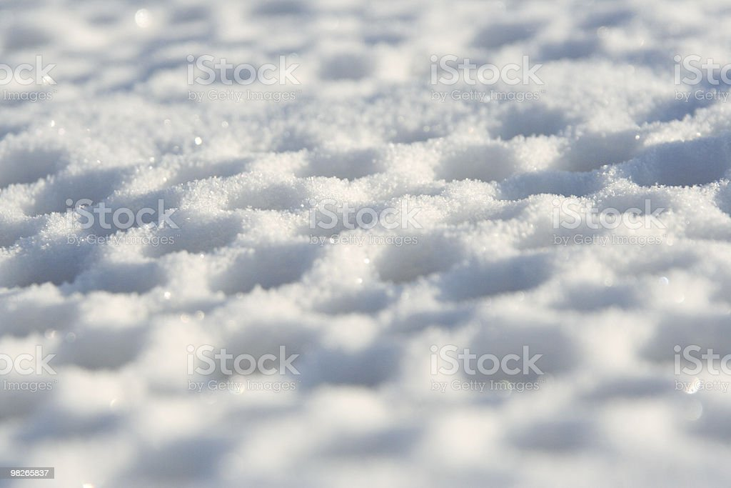 Snowy texture royalty-free stock photo