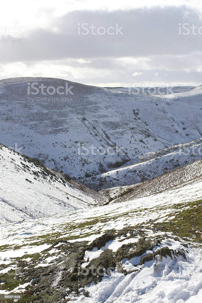 Snowy Valley royalty-free stock photo
