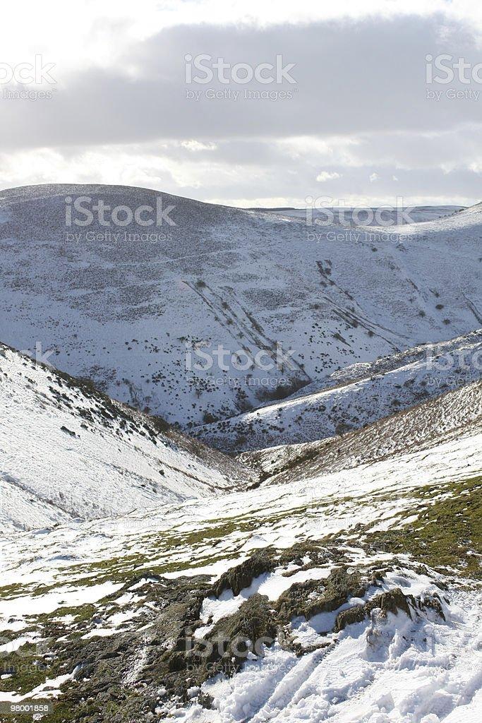 Snowy Valley royalty free stockfoto