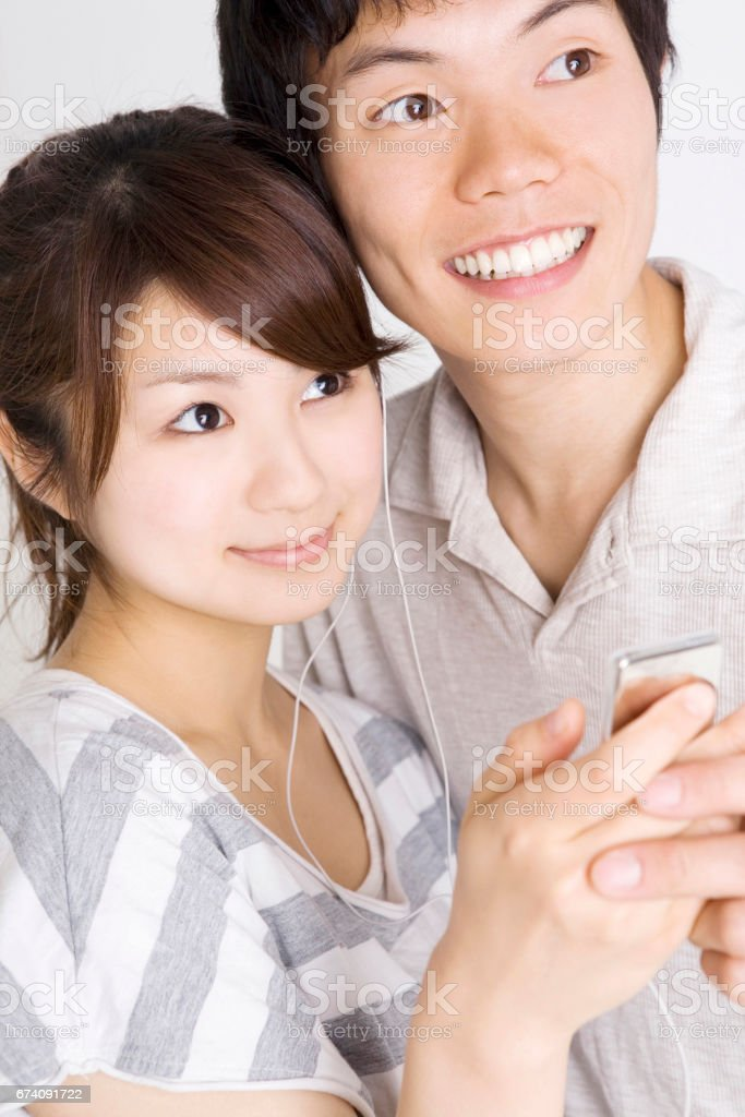 Snuggle lovers royalty-free stock photo