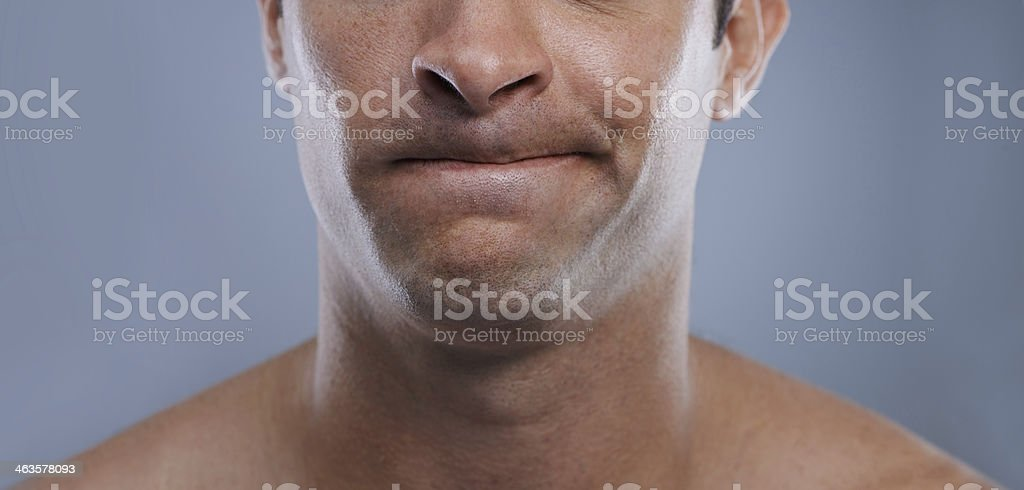 So close... stock photo