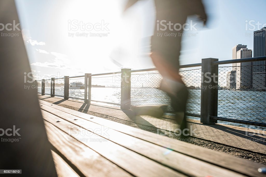So fast on a sunny day! stock photo