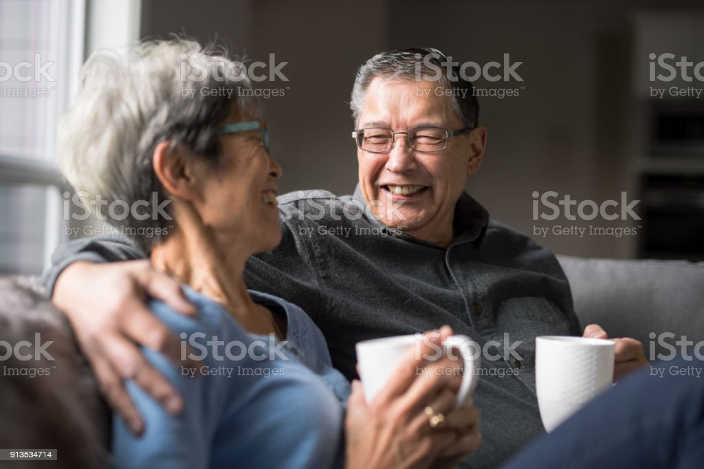 So Happy Together stock photo
