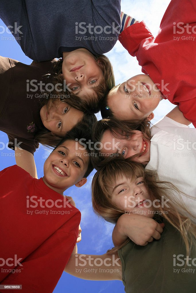 So Happy Together royalty-free stock photo