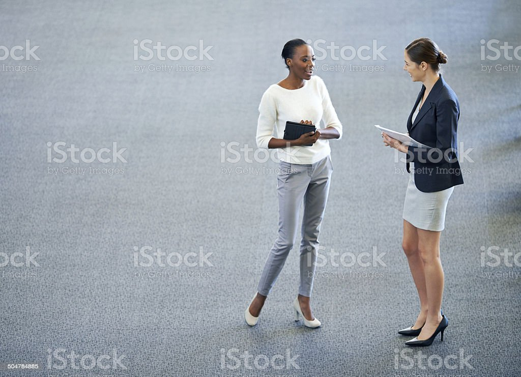 So, how's the project going? stock photo