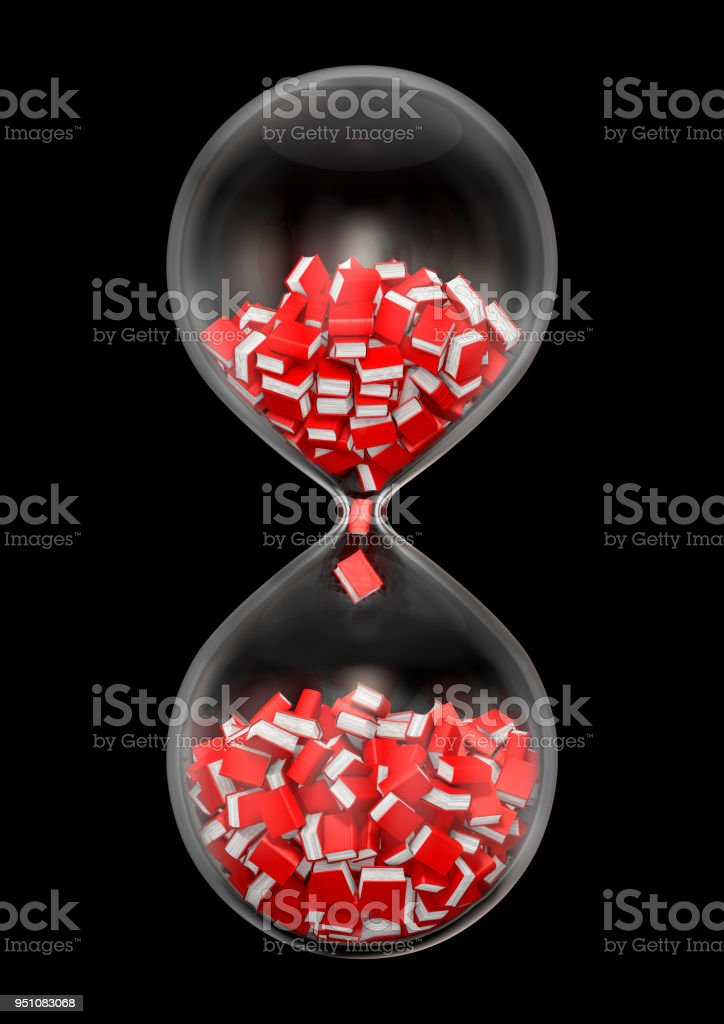So Many Books So Little Time Black Stock Photo - Download Image Now
