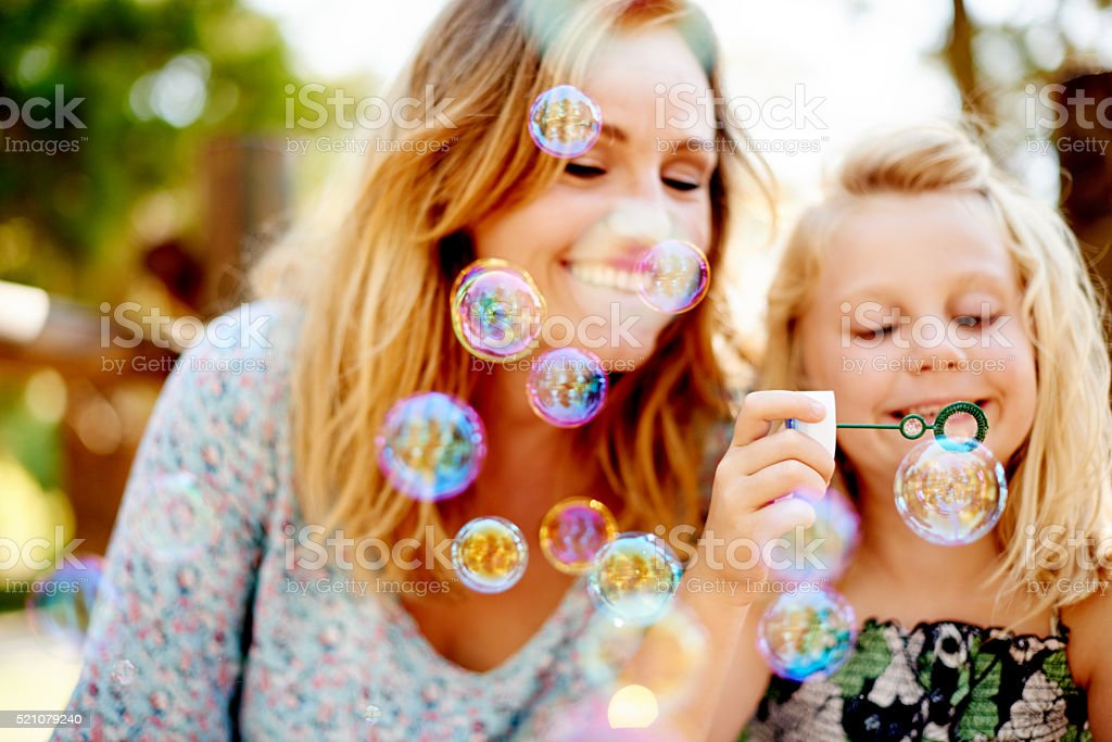 So many bubbles! stock photo