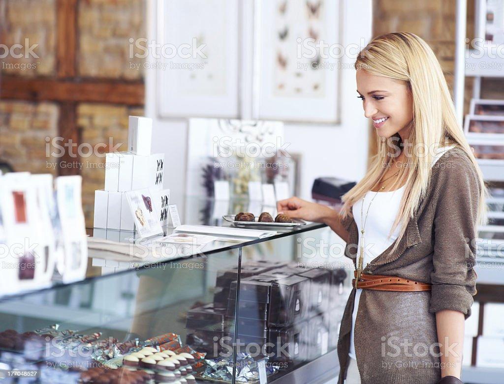 So many delicious choices.... royalty-free stock photo