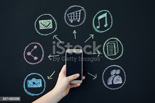 istock So many features to the phone 537460036