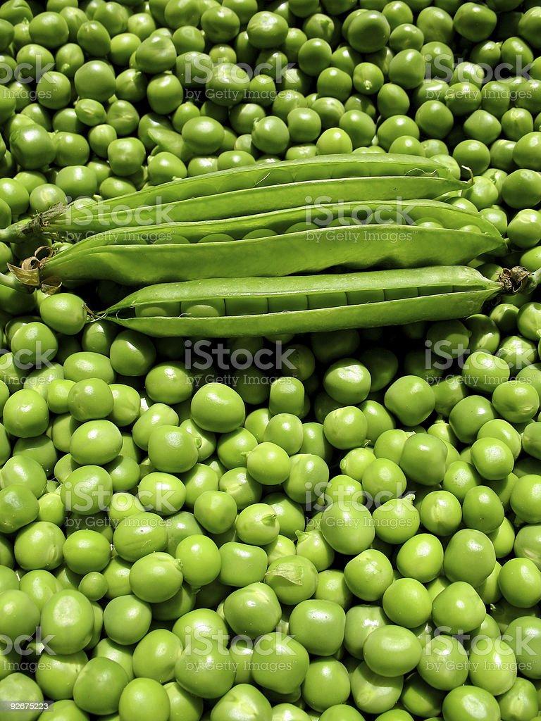 So Many Peas royalty-free stock photo