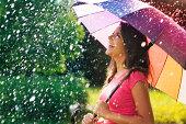 istock So much fun from summer rain 468413439