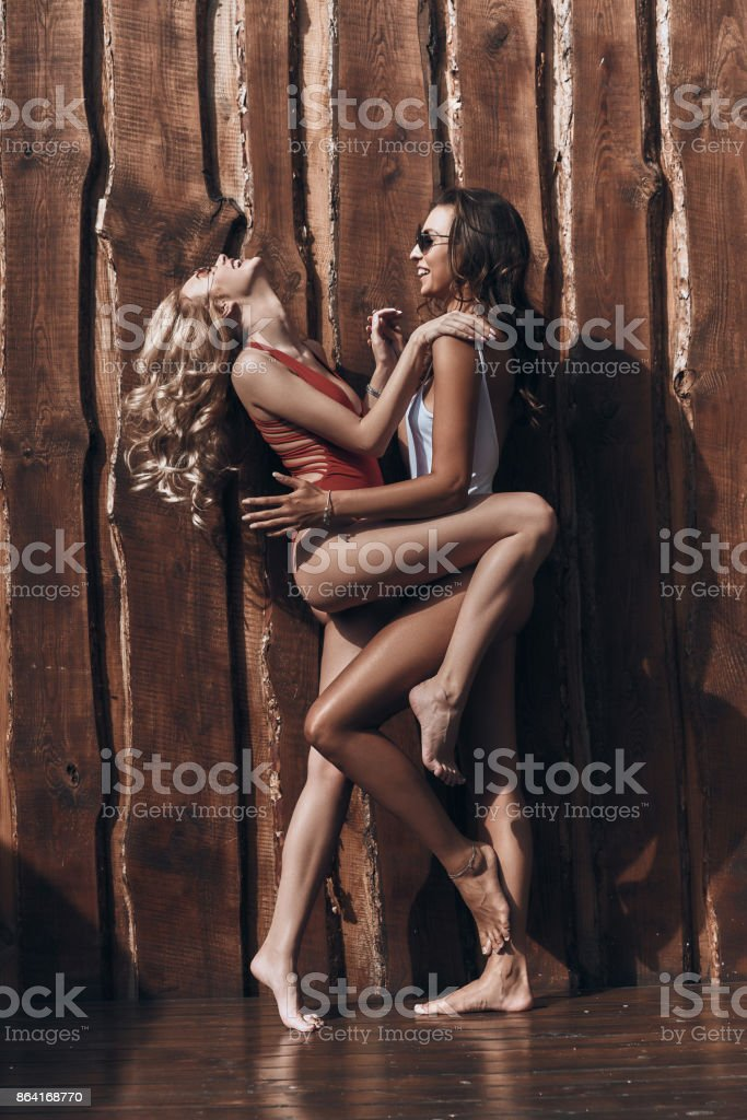 So much fun together. royalty-free stock photo