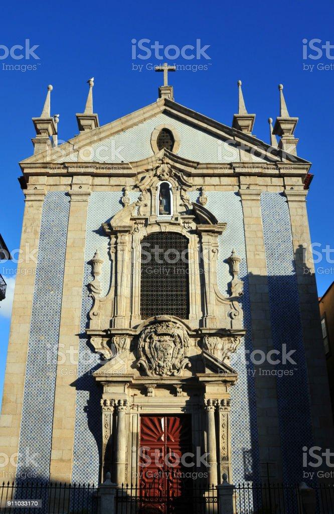 a8c8d4ae34e3 São Nicolau Church Porto Portugal Stock Photo - Download Image Now ...