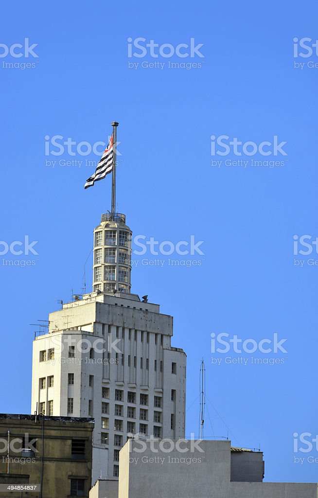 São Paulo, Brazil: Altino Arantes Building royalty-free stock photo