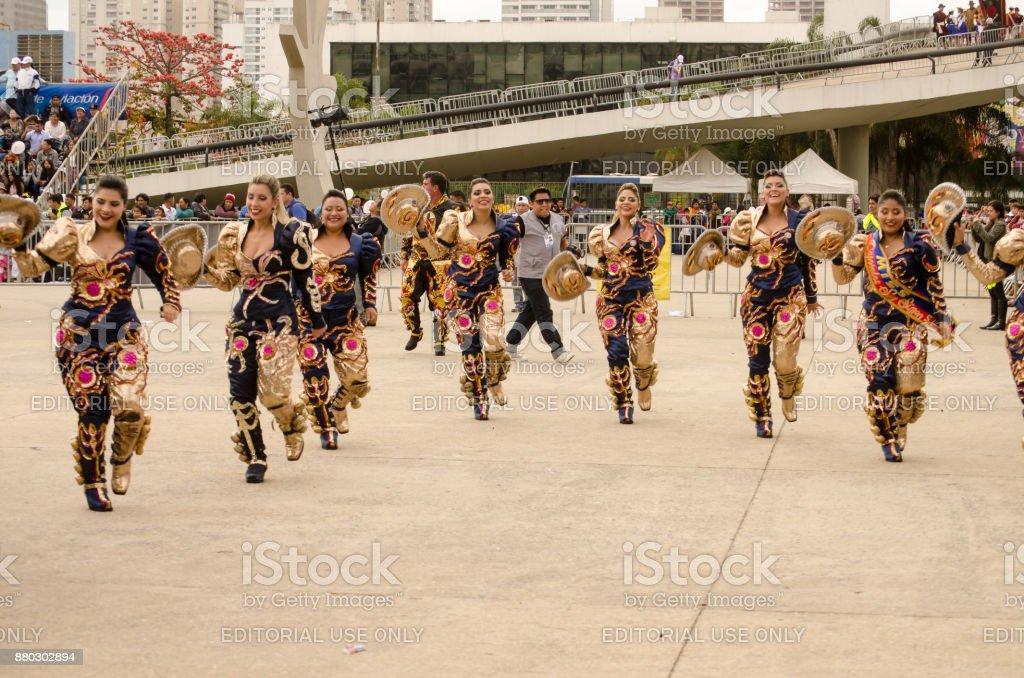 São Paulo - Cultura Boliviana - foto de acervo