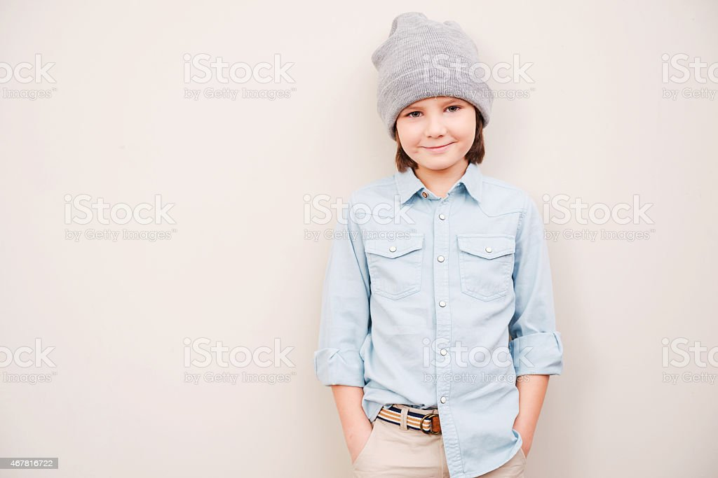 So young and so stylish! stock photo