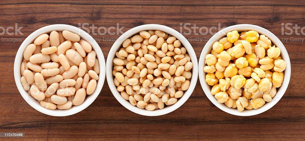 Soaked legumes royalty-free stock photo