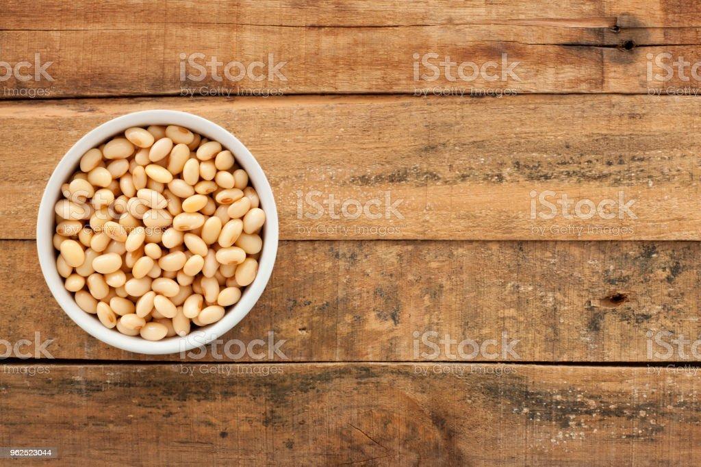 Sementes de soja demolhadas - Foto de stock de Alagado - Molhado royalty-free
